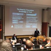 Vortrag von Dennis Riehle in Stockholm